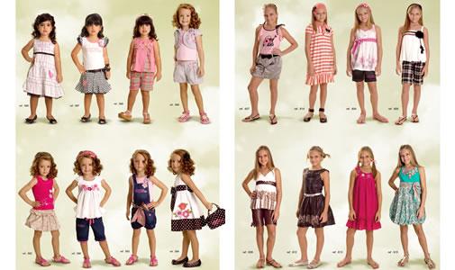 roupas para crianças 2011