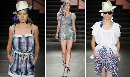 Moda Feminina Verão 2012 - Coleção Karin Feller é marcada pela busca da liberdade
