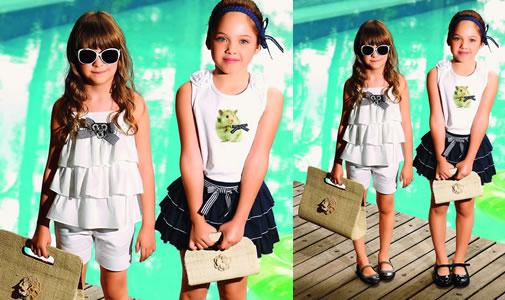 Moda Infantil - Artkids lança coleção de roupas diversificadas para o Verão 2012